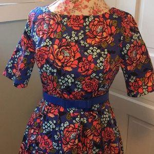 Retro Floral ModCloth Dress